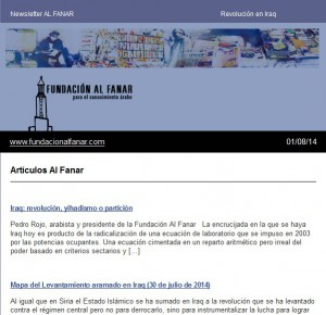 Newsletter Al Fanar
