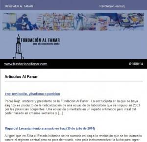 Newsletter Al Fanar