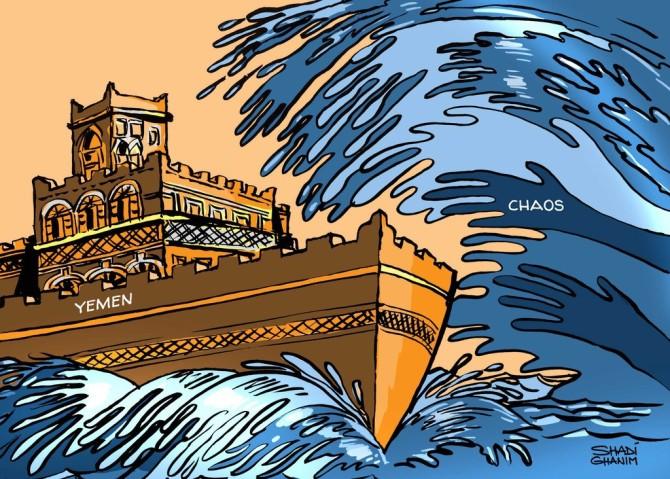 كاريكاتير ذا ناشيونال (الإمارات)  يوم الخميس 26 مارس 2015