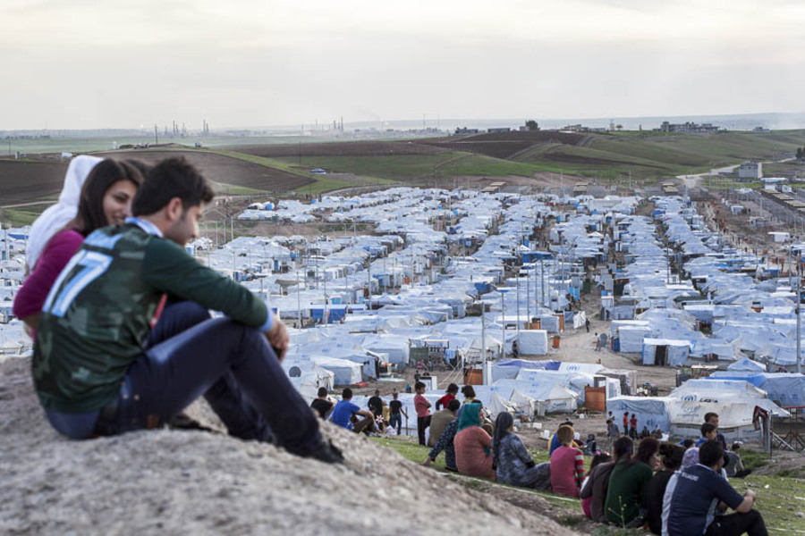 Kawargosk Syrian Camp
