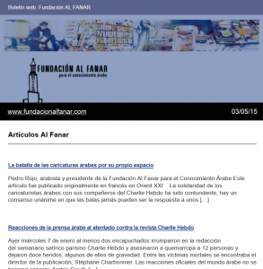 Newsletter caricaturas