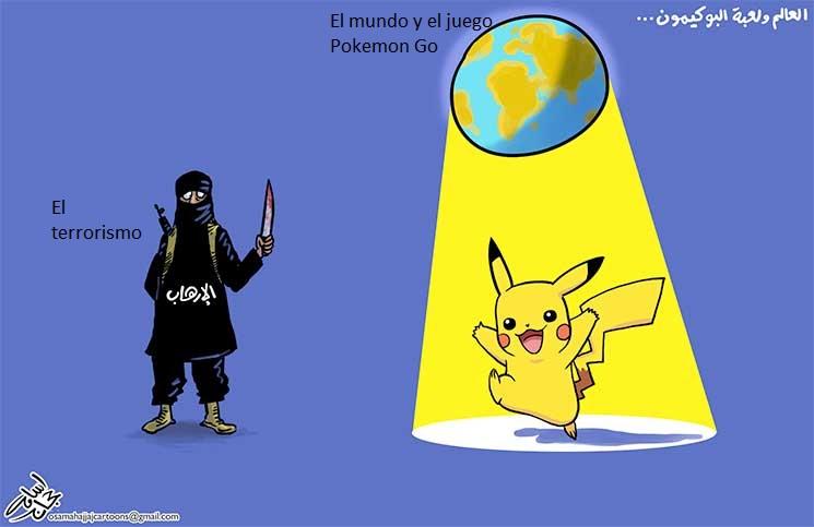 El mundo y Pokemon Go