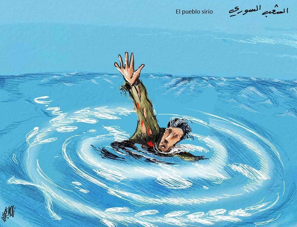 Naser al Yaafari_pueblo sirio