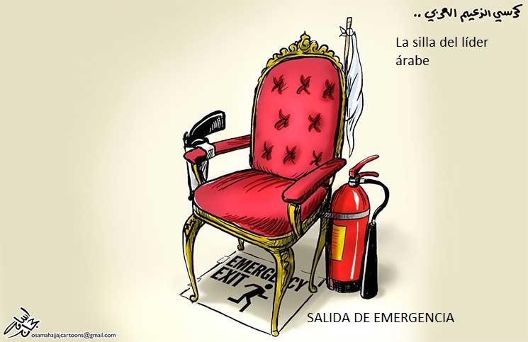silla del líder árabe_ Osama hayyach_qu