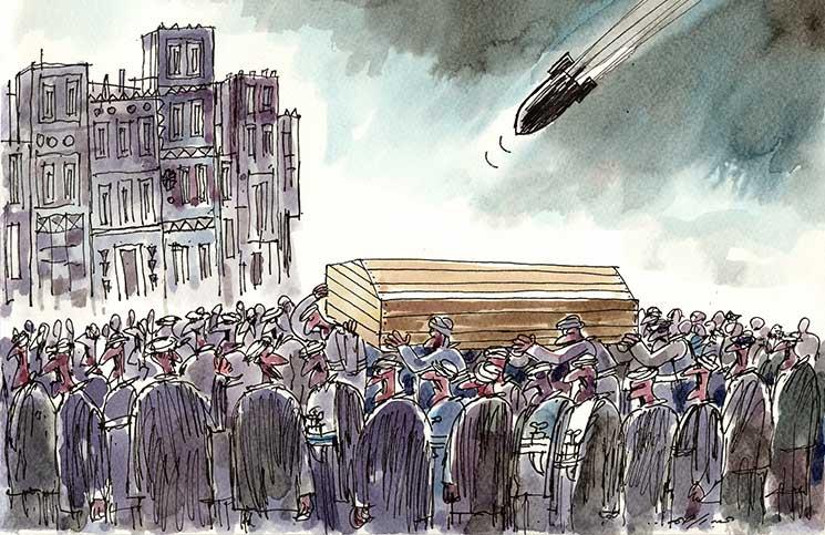 Funeral en Yemen