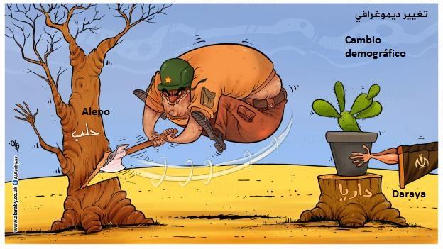 cambio demográfico en Siria_Fahd Al Bahadi
